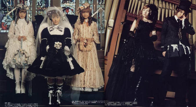 Goth Royal Wedding Gothic Lolita Weddings Cute Food Alternative