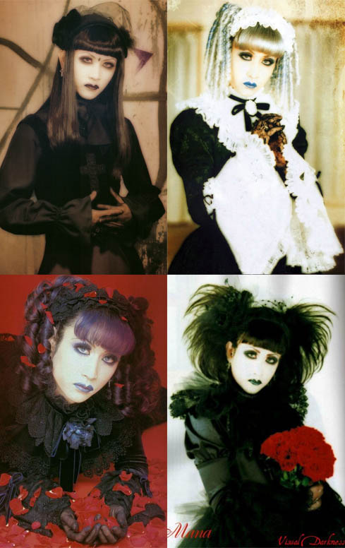 GOTHIC LOLITA STYLE IN VISUAL KEI BANDS.