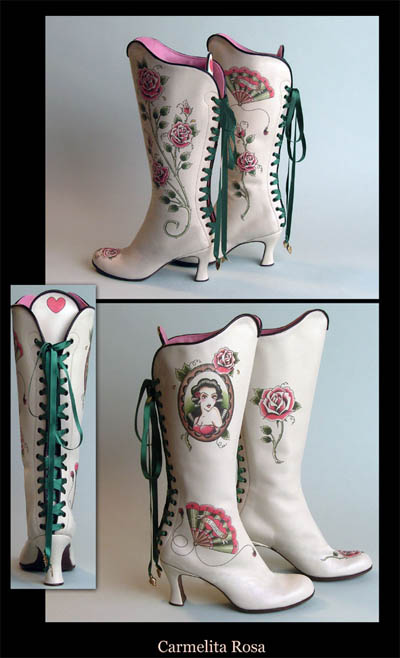 Sweet Lolita shoes by Helena-Angelique