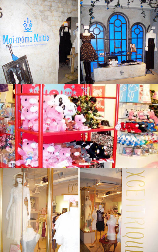 Marui Young or Marui One  Gothic Lolita department store