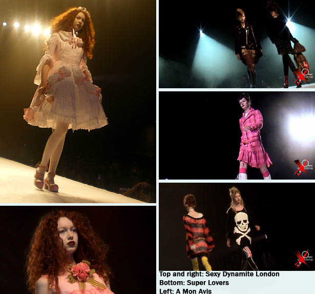 Sweet Lolita fashion show at Japan Expo in Paris, Sexy Dynamite, A mon avis, Super Lovers