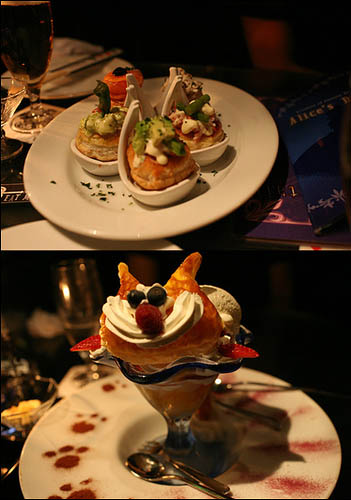 Alice in Wonderland Gothic Lolita restaurant in Japan.