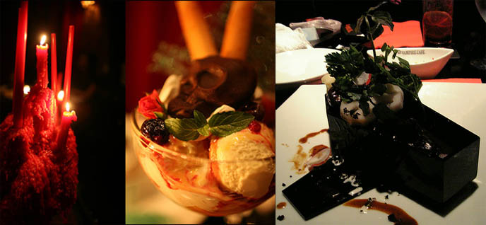 Goth and Gothic Lolita restaurant in Japan, The Vampire Cafe.
