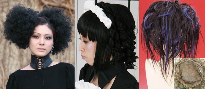 Superb Prisila Gothic Lolita Wigs Extensions And Hairstyles La Short Hairstyles Gunalazisus