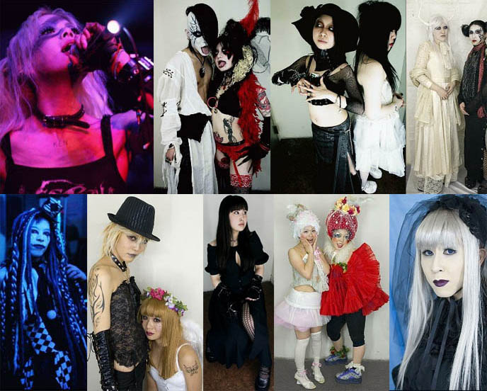 Alamode Night, a Tokyo gothic lolita nightlife event and market.