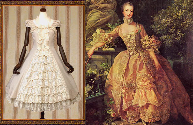 BOUCHER'S MADAME DE POMPADOUR AND ROCOCO DRESSES BY ...