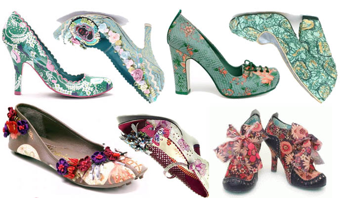 Rococo shoes by Irregular Choice, weird alternative shoe brand from the UK.