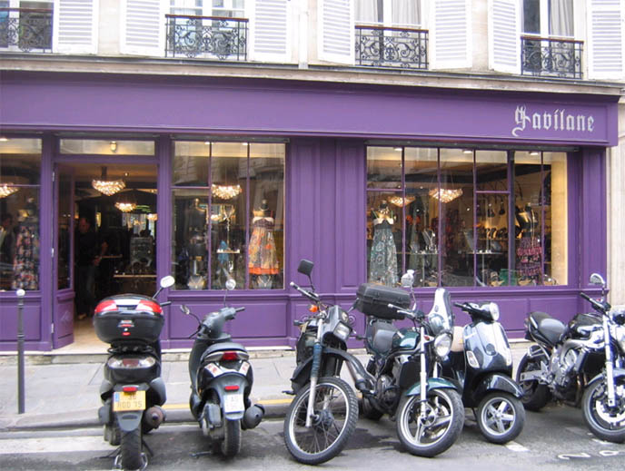 Paris Goth jewelery and accessories store Gavilane in the Marais.