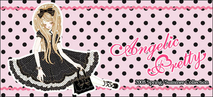 Angelic Pretty sweet lolita clothing and shopping website. Pink girly Japanese clothes.