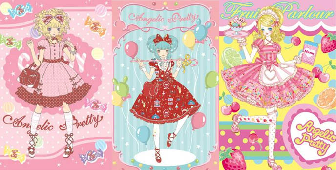 Angelic Pretty sweet lolita clothing from Tokyo, Japan.