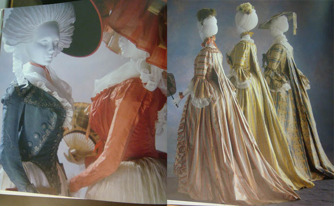 Kyoto Costume Institute exhibit, Revolution in Fashion, Rococo and Neoclassical clothing and culture.