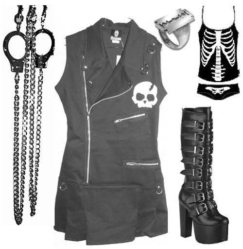 Gothic clothing stores Clothing stores