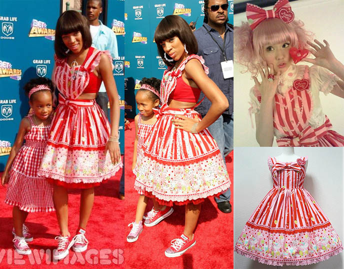 MAMA IN ANGELIC PRETTY SWEET LOLITA: TEEN CHOICE AND BET AWARD SHOWS