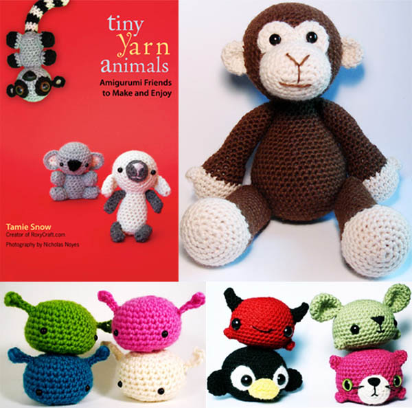 Diy Amigurumi Animals : JAPANESE DIY CRAFT BOOKS: SOCK AND GLOVE, AMIGURUMI TINY ...
