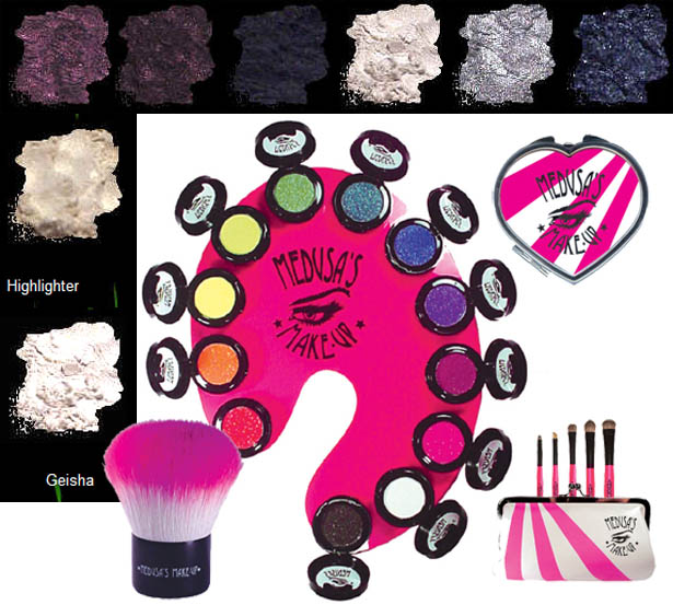 Medusa S Makeup Electro New Rave Eye Shadow And Dust Disco Club Queen