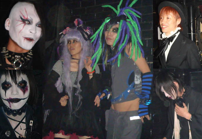 DJ Sisen and Chihiro from Tokyo Decadance, Tokyo Dark Castle, Alamode Night, Gothic Bar Heaven and other Japanese Goth and Lolita club nights.