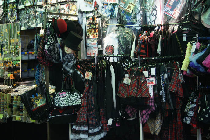 Punk rock clothing store