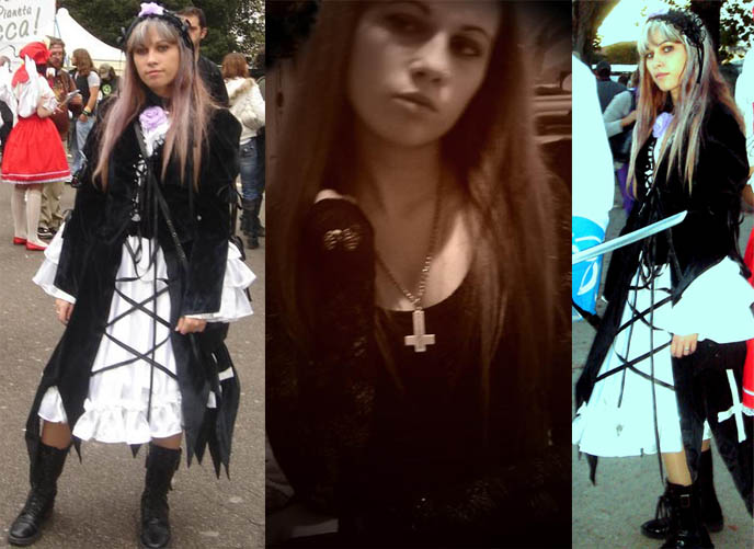 Moi-meme-moitie gothic lolita and elegant goth aristocrat fashion, clothing brand. Shopping for alternative dresses and tops, Italian emo.